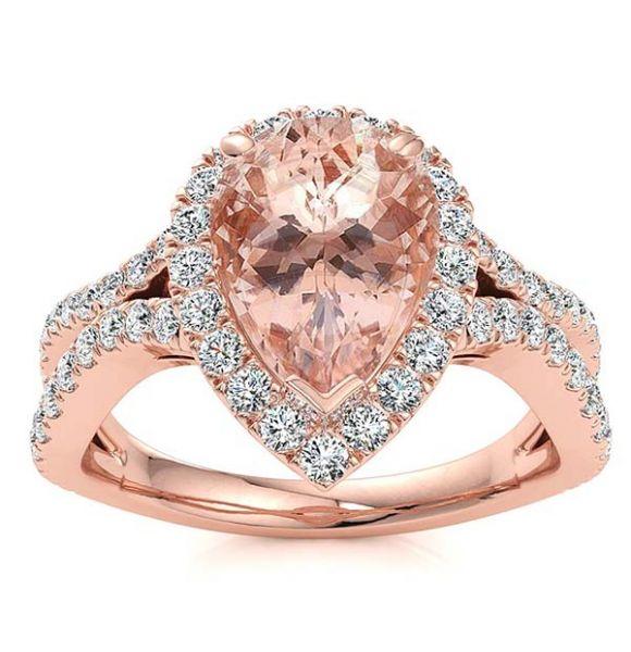 Jasmine Morganite Ring