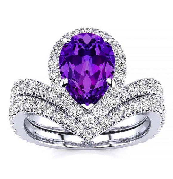Anna Amethyst Ring