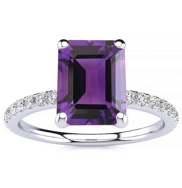 Yana Amethyst Ring