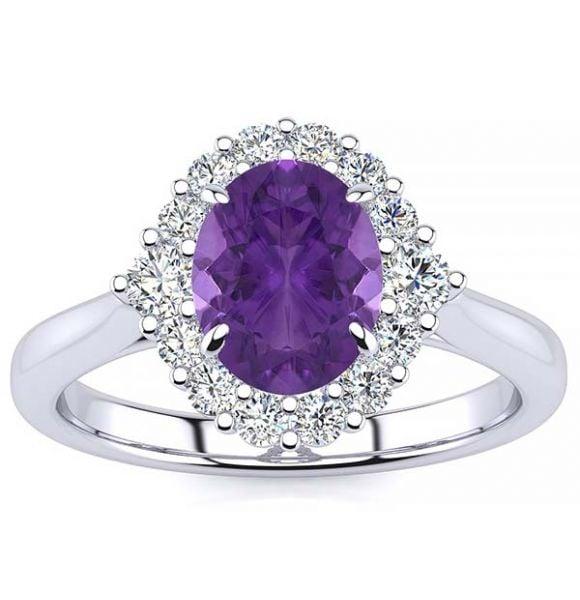 Debora Amethyst Ring