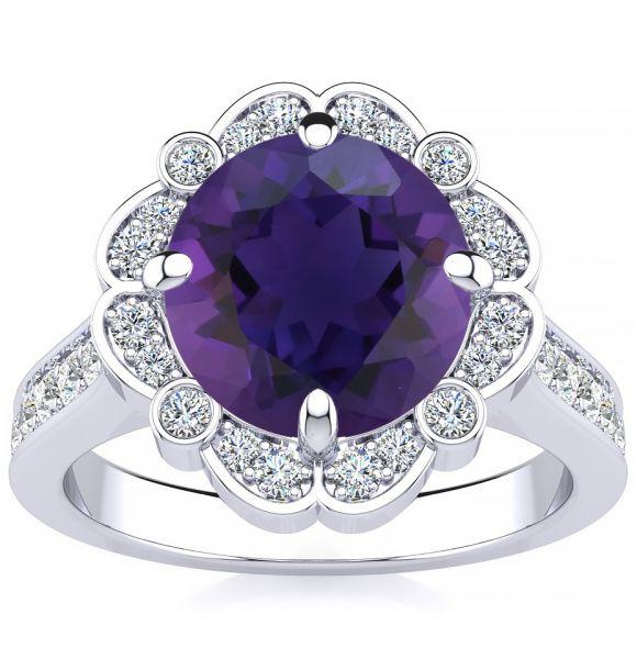 Karen Amethyst Ring