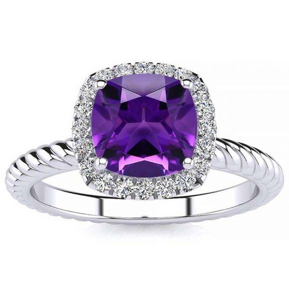 Alyssa Amethyst Ring