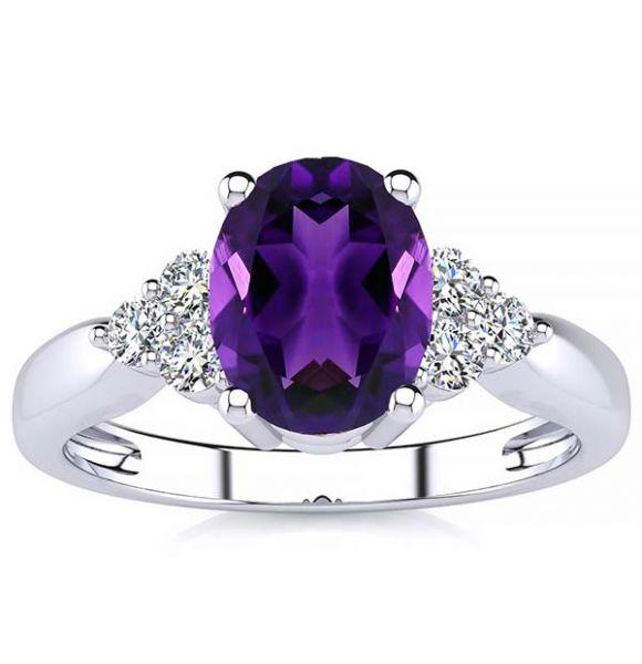 Selena Amethyst Ring