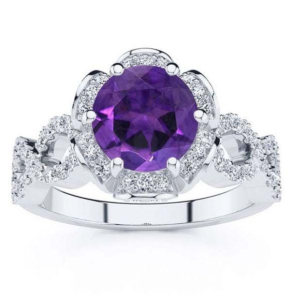Katie Amethyst Ring