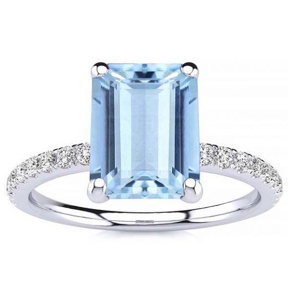 Yana Aquamarine Ring