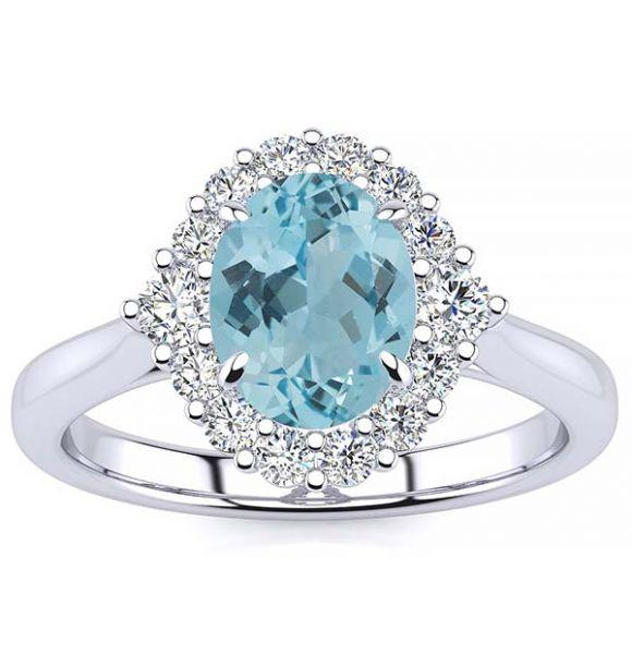 Debora Aquamarine Ring