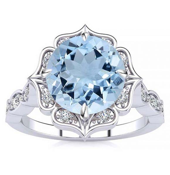 Permila Aquamarine Ring