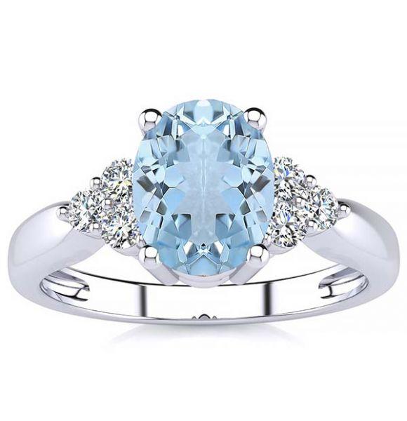 Selena Aquamarine Ring