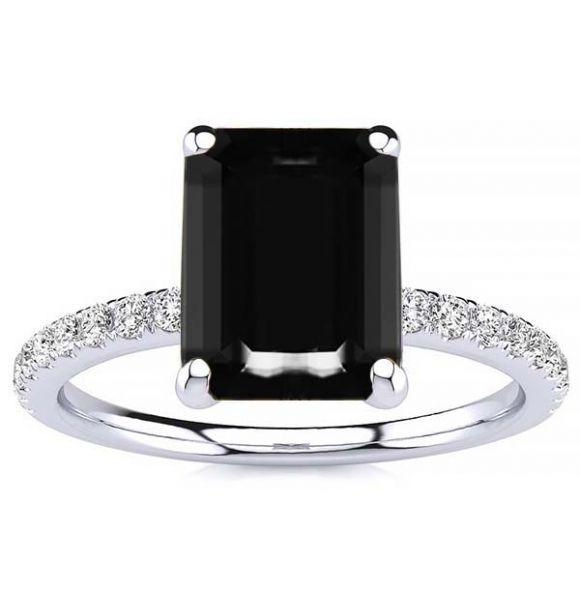 Yana Black Diamond Ring