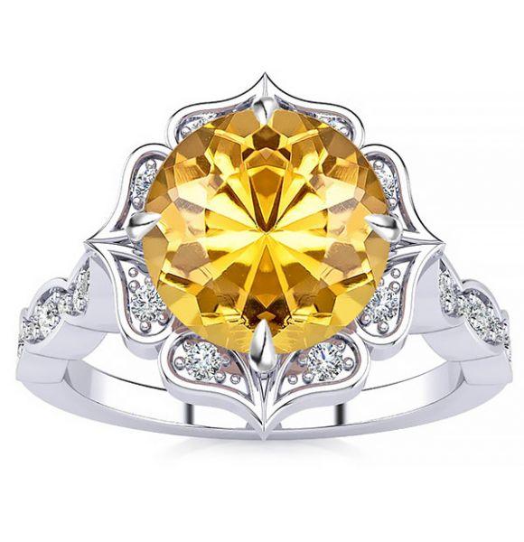 Permila Black Diamond Ring