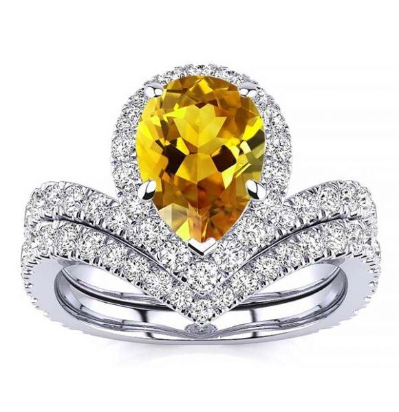 Anna Citrine Ring