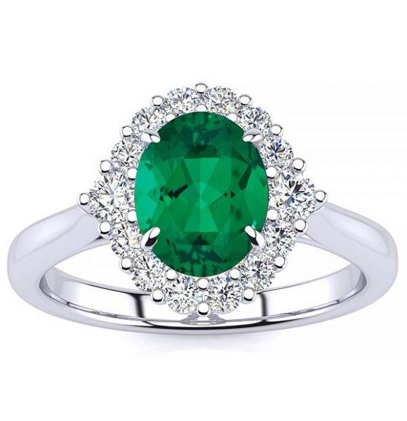 Debora Emerald Ring