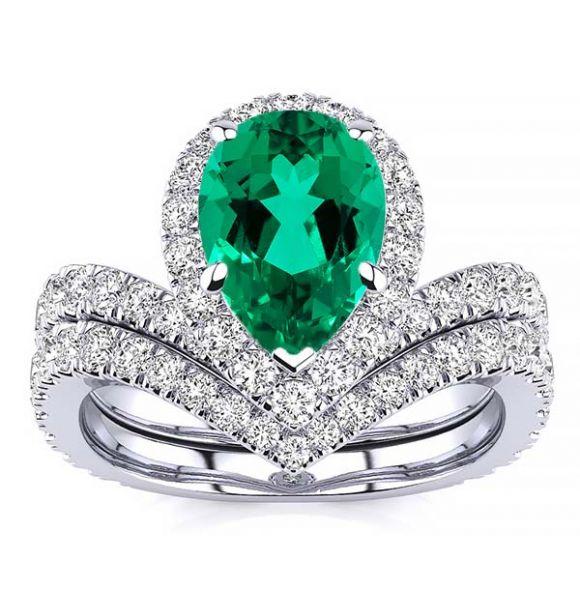 Anna Emerald Ring