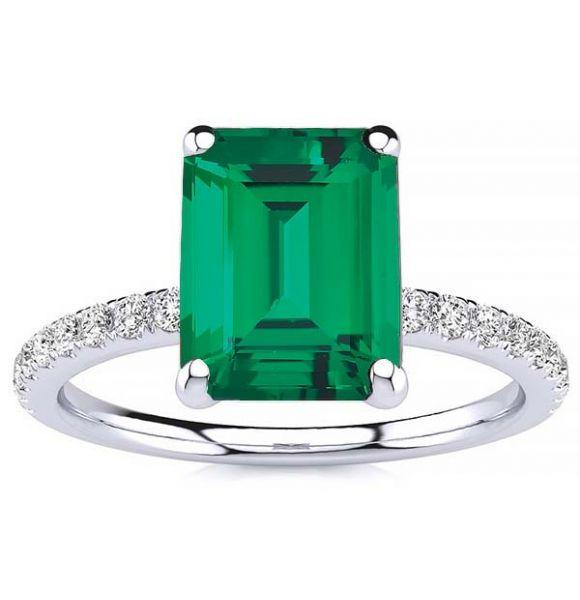 Yana Emerald Ring