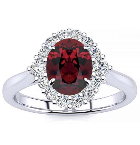 Debora Garnet Ring