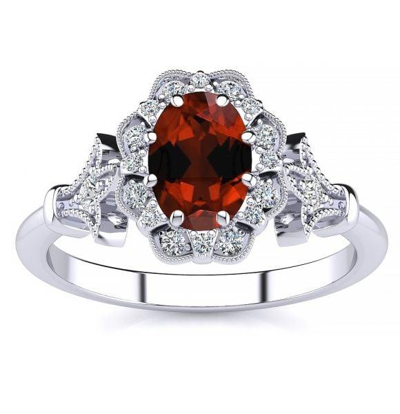 Stephanie Garnet Ring