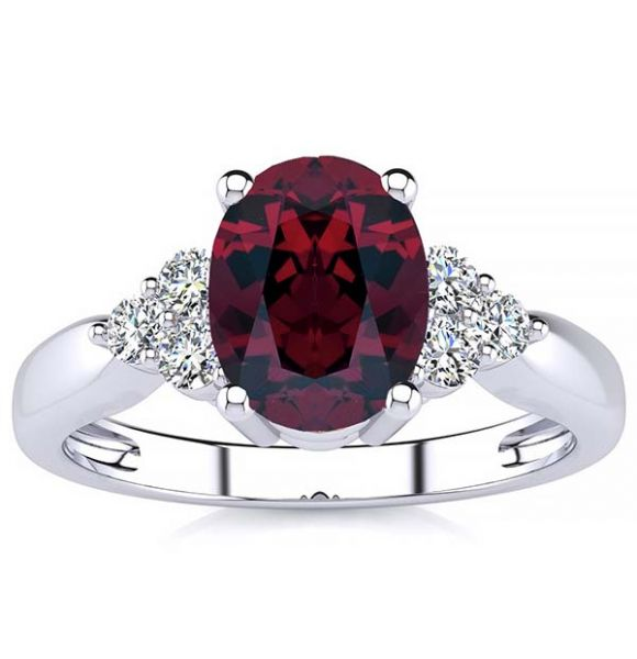 Selena Garnet Ring