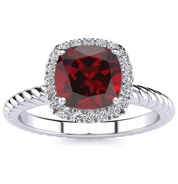 Alyssa Garnet Ring