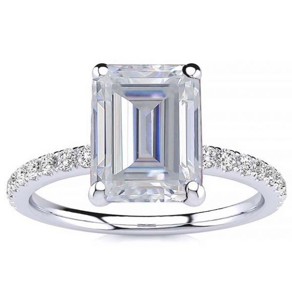 Yana Moissanite Ring