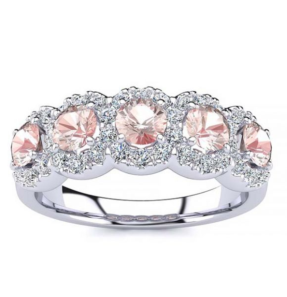 Amy Morganite Ring