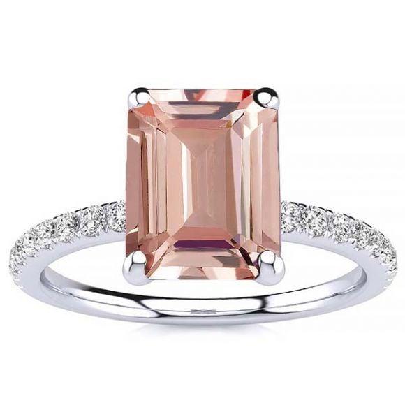 Yana Morganite Ring