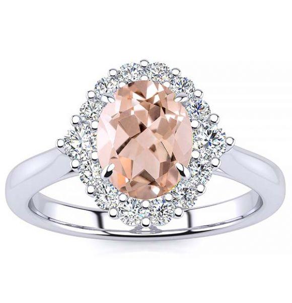 Debora Morganite Ring