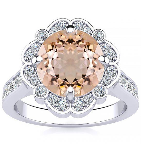 Karen Morganite Ring