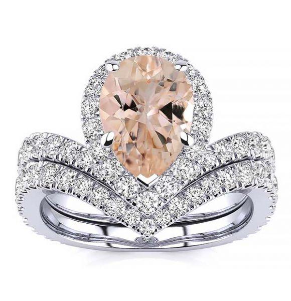 Anna Morganite Ring