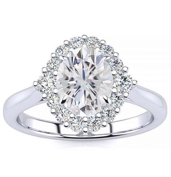 Debora Moissanite Ring