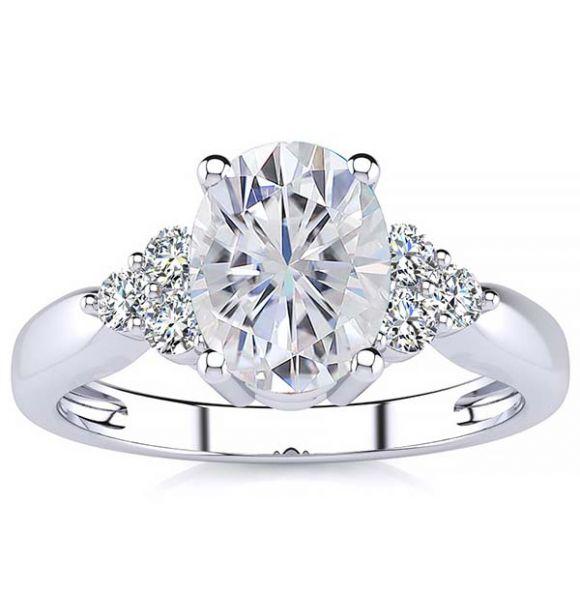 Selena Moissanite Ring