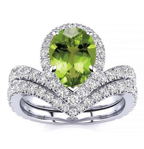 Anna Peridot Ring
