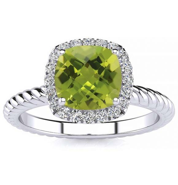 Alyssa Peridot Ring
