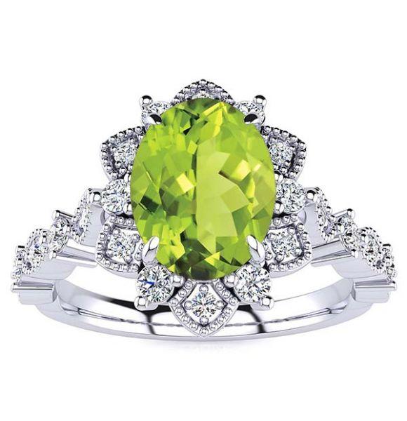 Brenda Peridot Ring