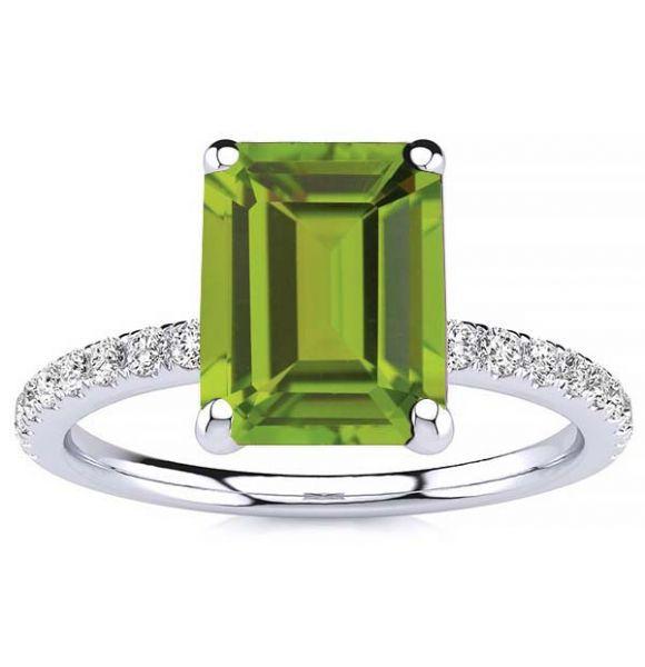 Yana Peridot Ring
