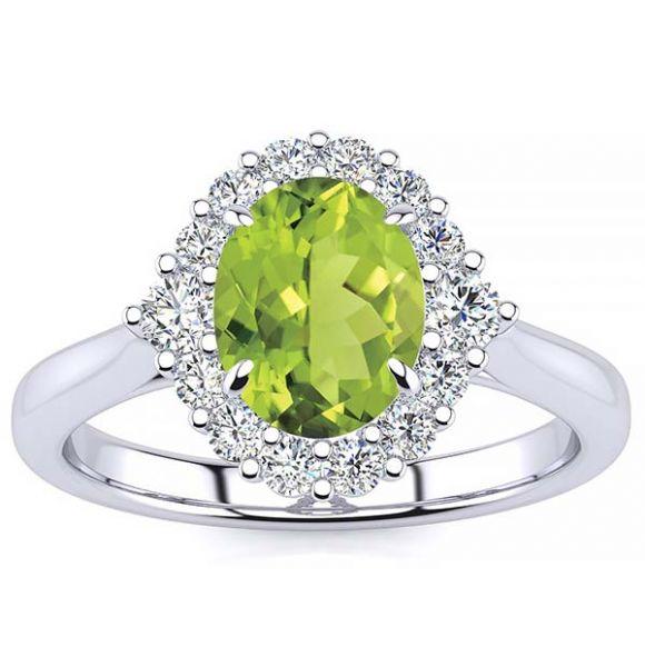Debora Peridot Ring