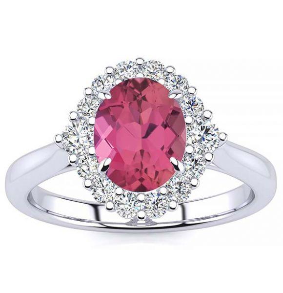Debora Pink Tourmaline Ring