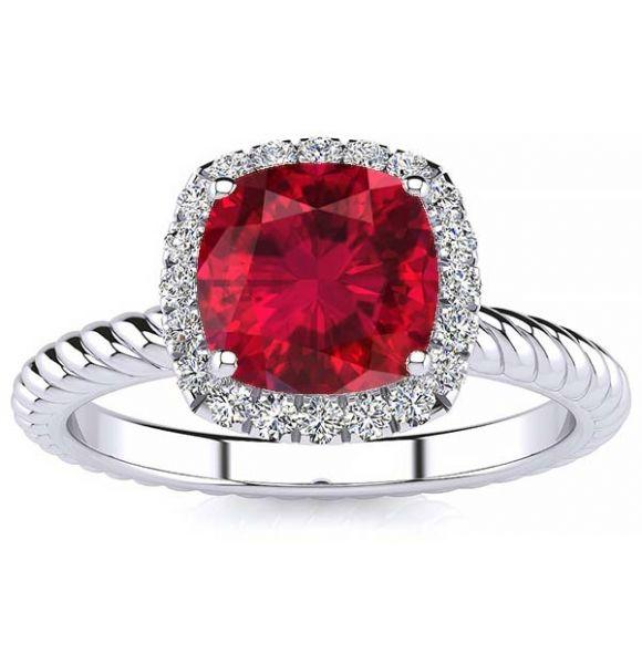 Alyssa Ruby  Ring