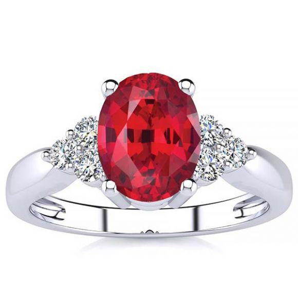 Selena Ruby Ring