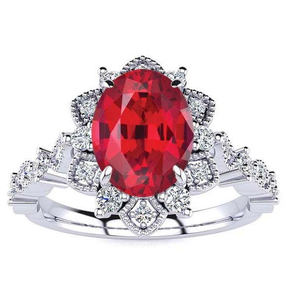 Brenda Ruby Ring