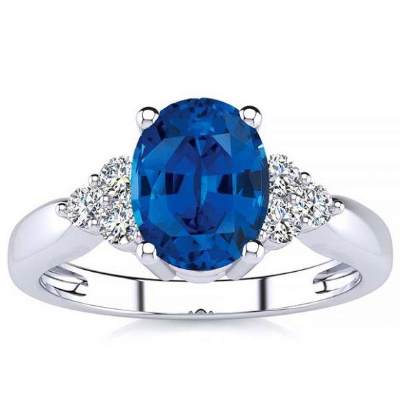 Selena Sapphire Ring