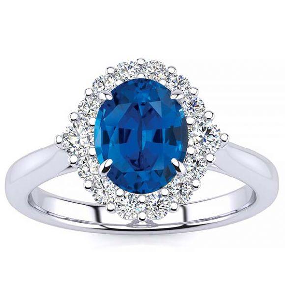 Debora Blue Sapphire Ring