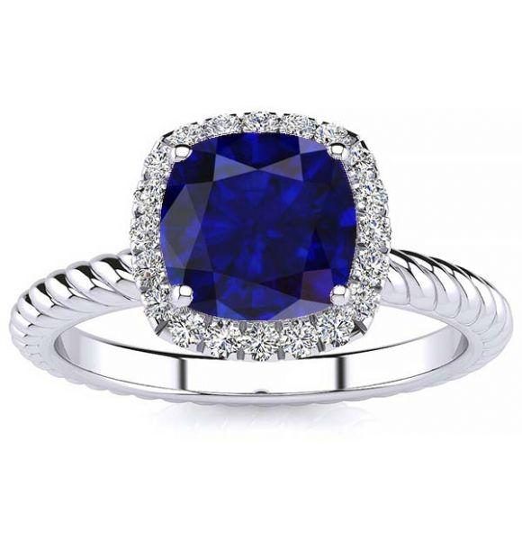 Alyssa Sapphire Ring