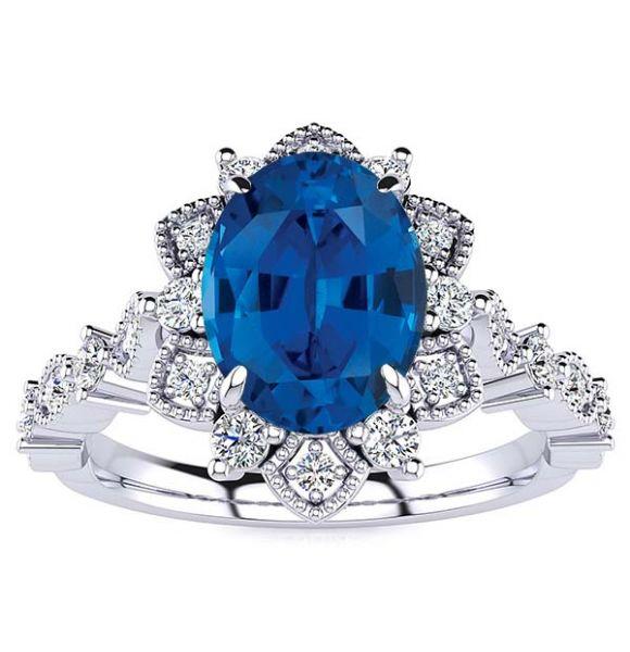 Brenda Sapphire Ring