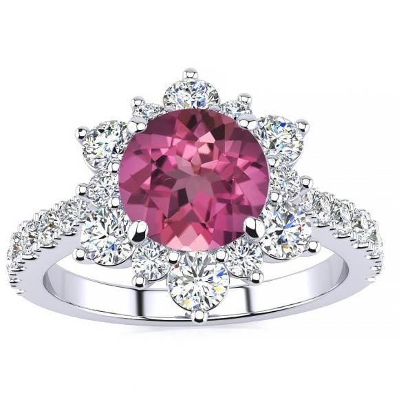 Snowflake Tourmaline Ring