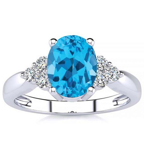 Selena Topaz Ring