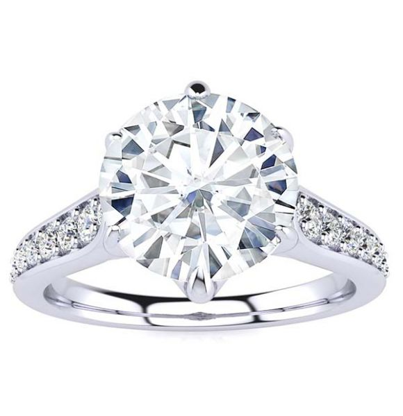 Vine Lab Grown Diamond Ring