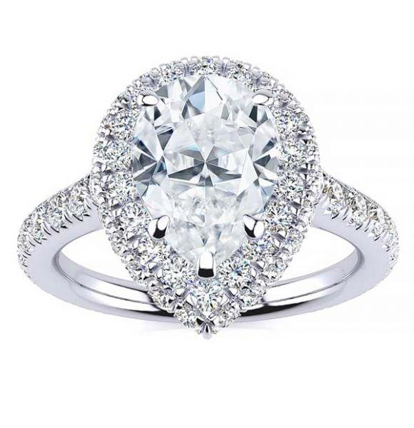 Kaitlyn Moissanite Ring
