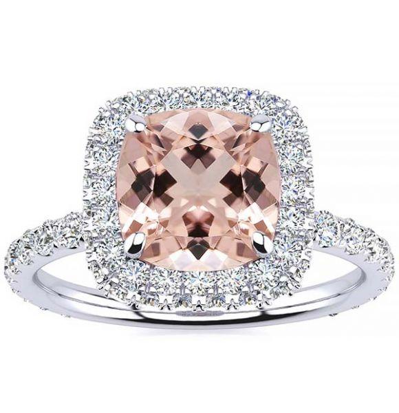 Krista Morganite Ring
