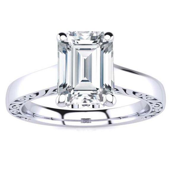 Lexi Moissanite Ring