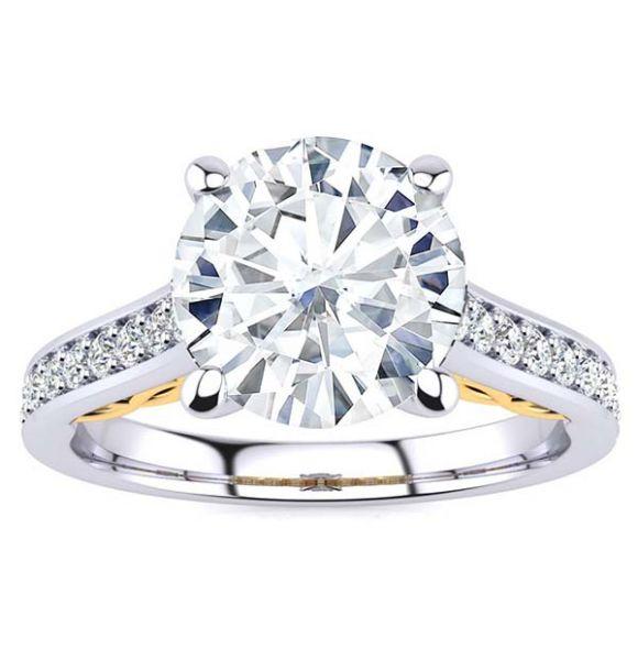 Kassidy Moissanite Ring